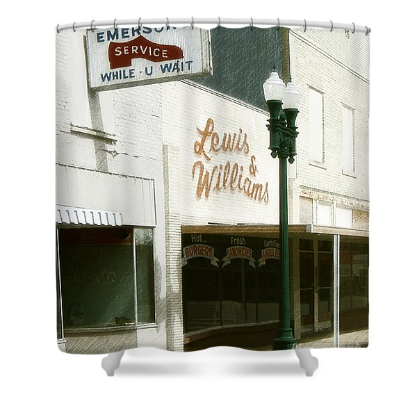 Lewis And Williams Shower Curtain