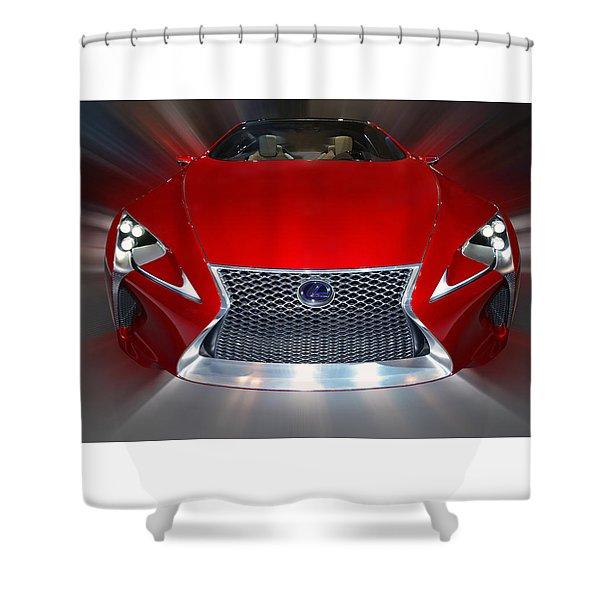 Lexus L F - L C Hybrid 2013 Shower Curtain