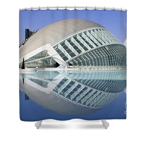 L'hemispheric Valencia Shower Curtain