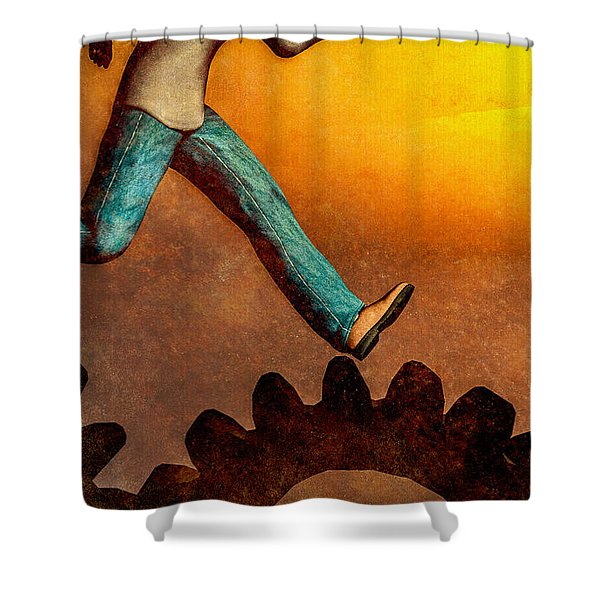 Life Again Shower Curtain