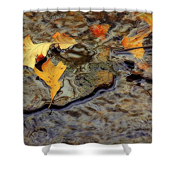 Life Flows Shower Curtain