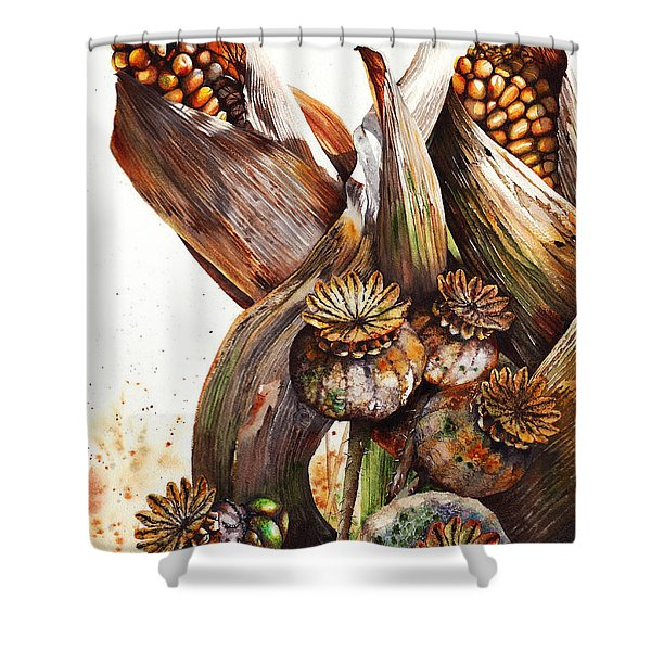 Life Goes On Shower Curtain