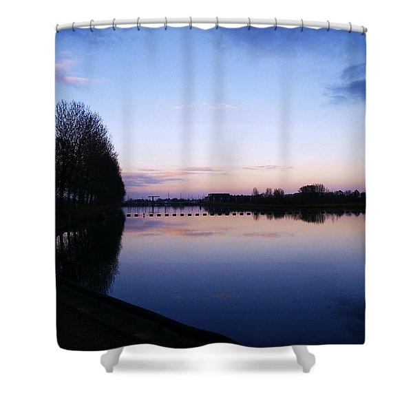 Light Fall Shower Curtain