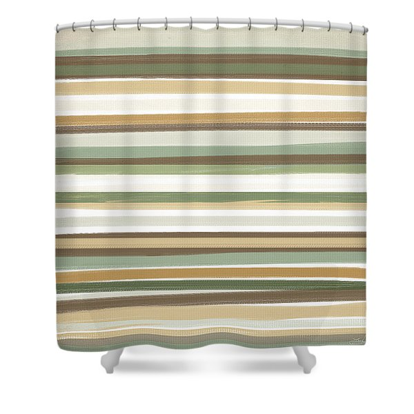 Light Mocha Shower Curtain
