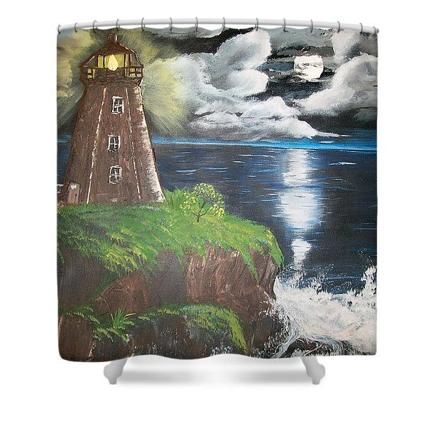 Light Of The Moon Shower Curtain
