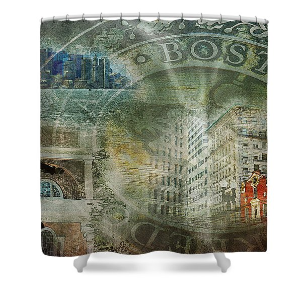 Light Of The New World Shower Curtain