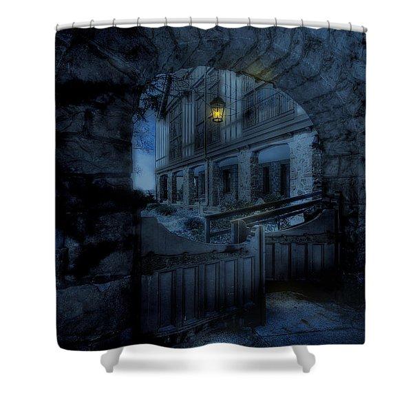 Light The Way Shower Curtain