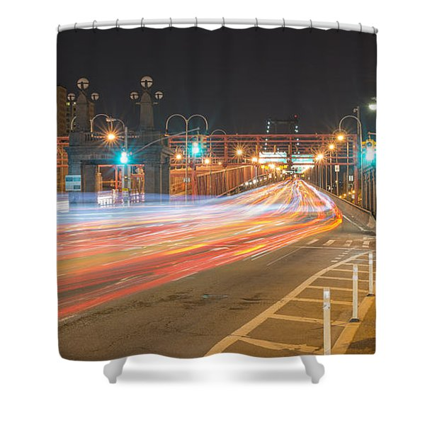 Light Traffic Shower Curtain