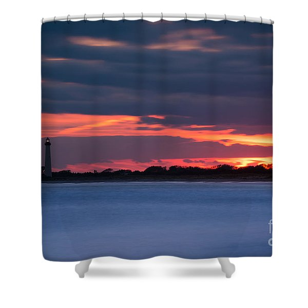 Light Up The Way Shower Curtain