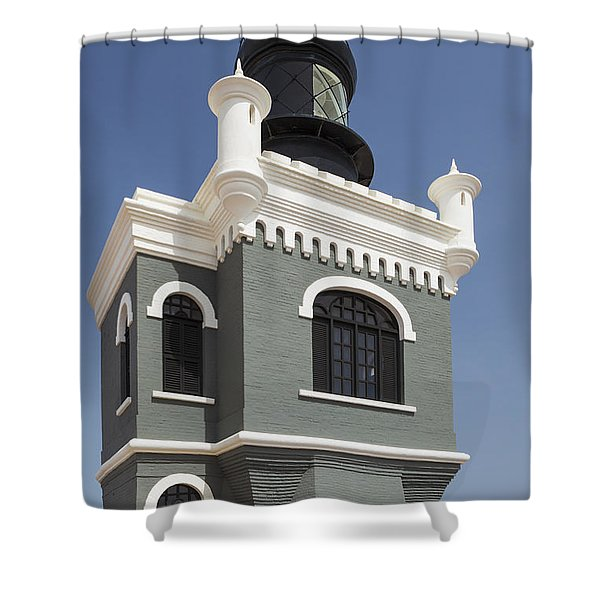 Lighthouse At El Morro Fortress Shower Curtain