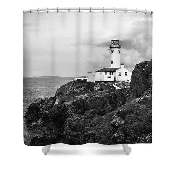 Lighthouse, Northern Ireland Shower Curtain