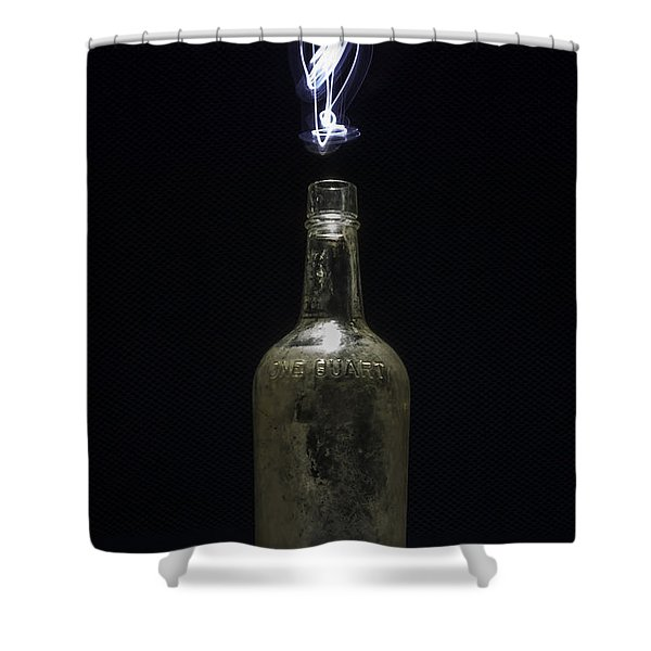 Lighting By The Quart - Light Painting Shower Curtain