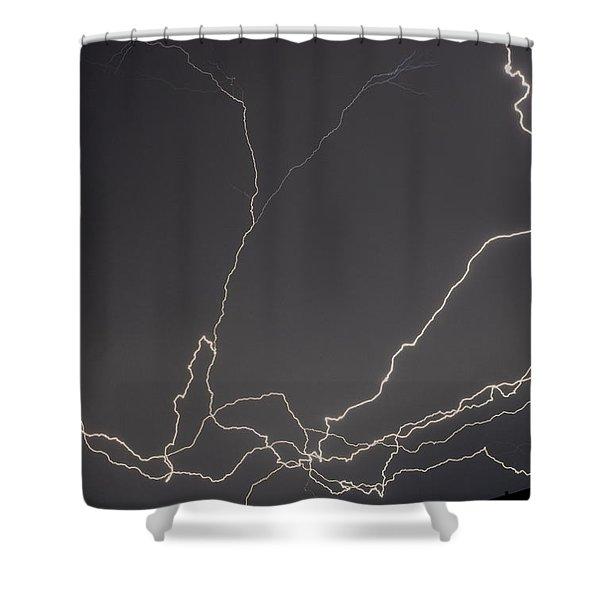 Lightning 6a Shower Curtain
