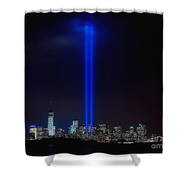 Lights Over Nyc Shower Curtain