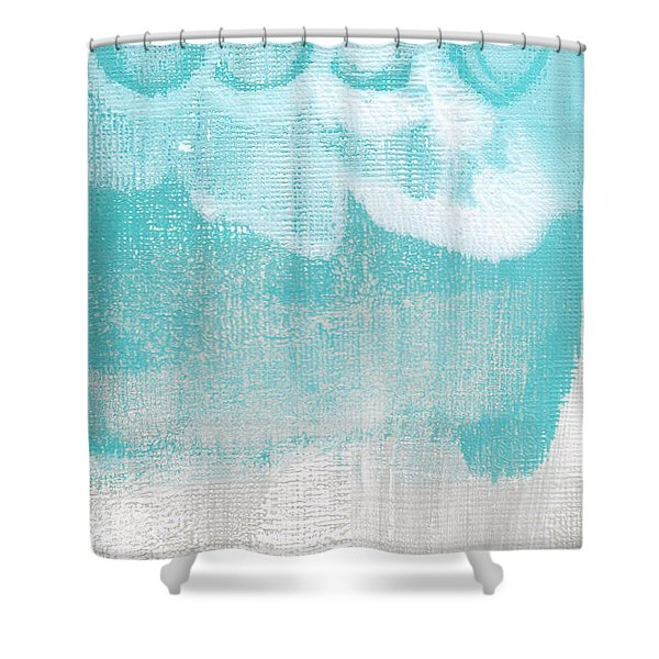 Like A Prayer- Abstract Painting Shower Curtain