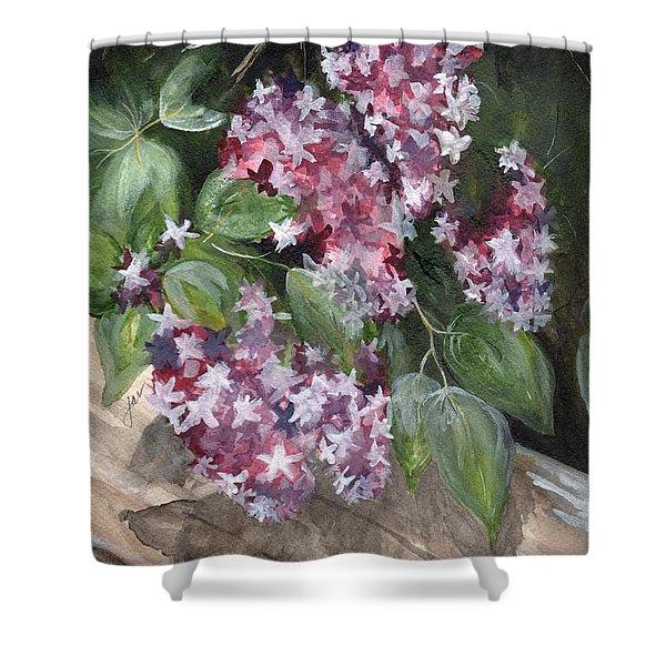 Lilacs Shelburne Museum Shelburne Vt Shower Curtain