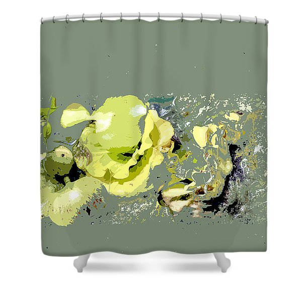 Lily Pads - Deconstructed Shower Curtain