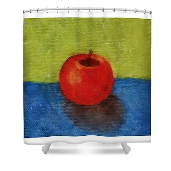 Lime Apple Lemon Shower Curtain