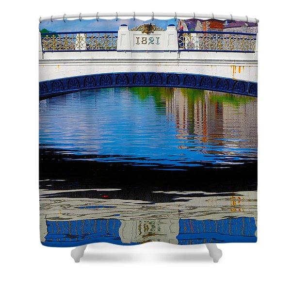 Sean Heuston Dublin Bridge Shower Curtain