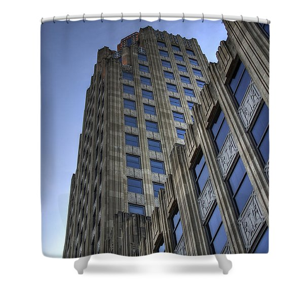 Lincoln Building Shower Curtain