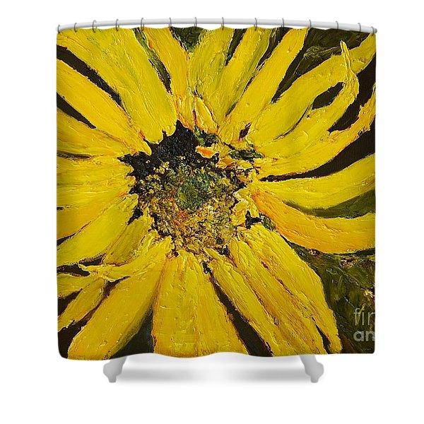 Linda's Arizona Sunflower 2 Shower Curtain