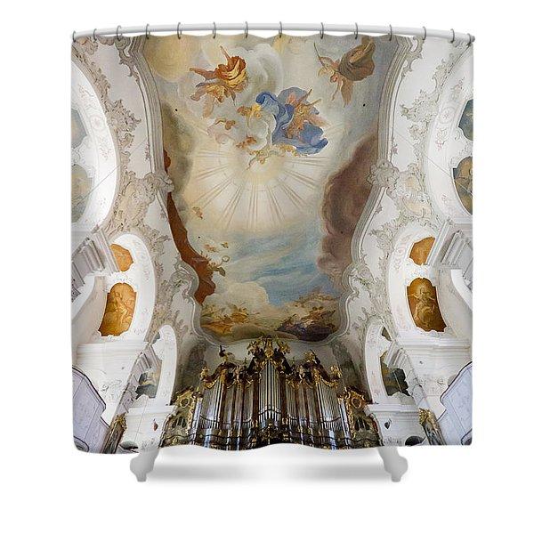 Lindau Organ And Ceiling Shower Curtain