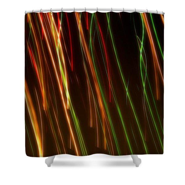 Line Light Shower Curtain