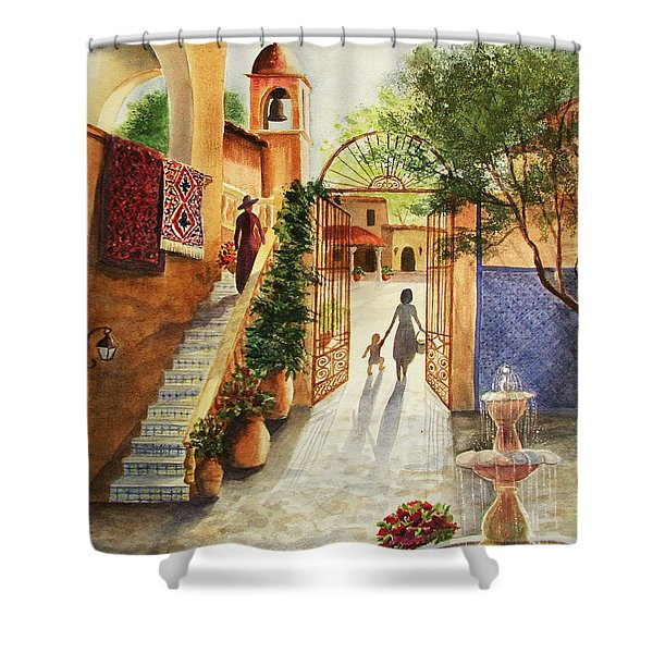 Lingering Spirit-sedona Shower Curtain