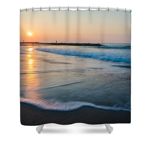 Liquid Sun Shower Curtain