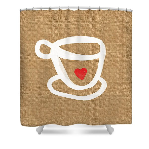 Little Cup Of Love Shower Curtain