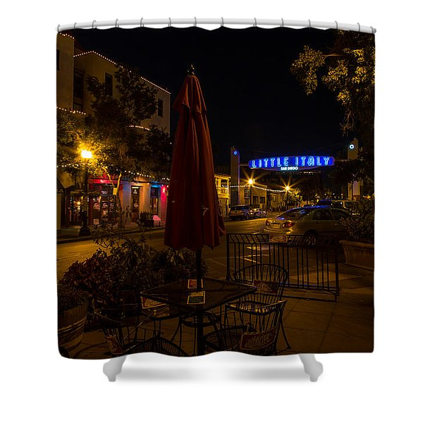 Little Italy  Shower Curtain