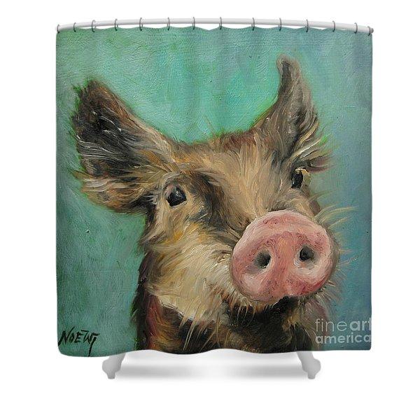 Little Piglet Shower Curtain
