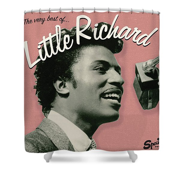 Little Richard -  The Very Best Of Shower Curtain
