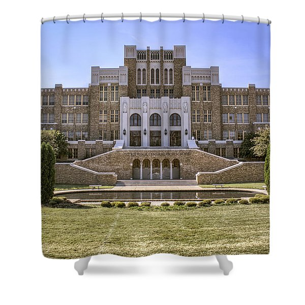 Little Rock Central High School Shower Curtain