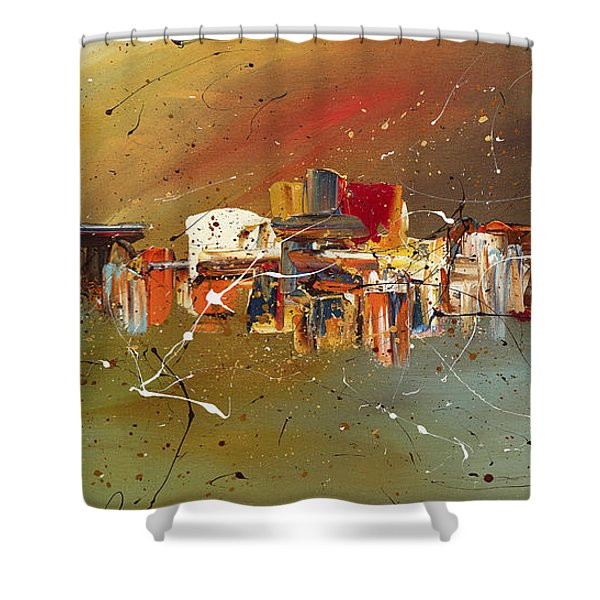 Live Well Shower Curtain