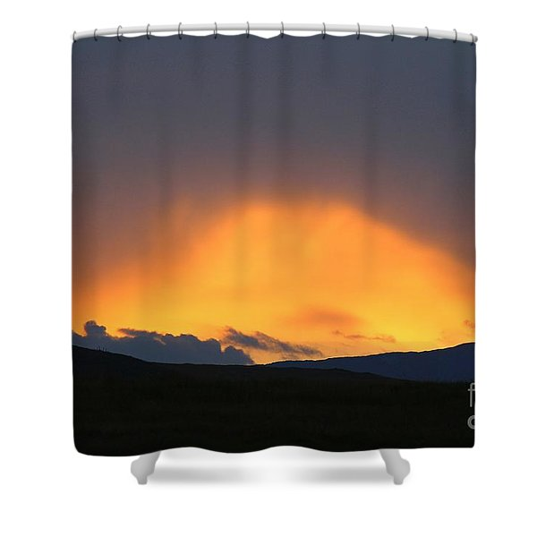 Livingstone Range Sunset Shower Curtain