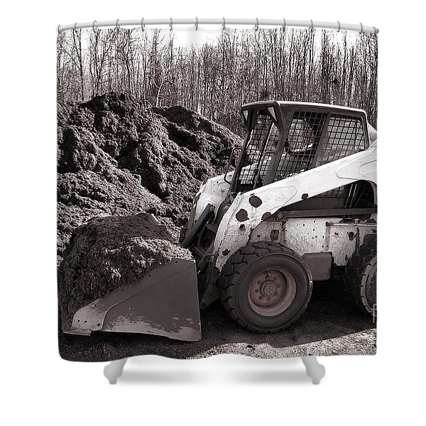Loader  Shower Curtain