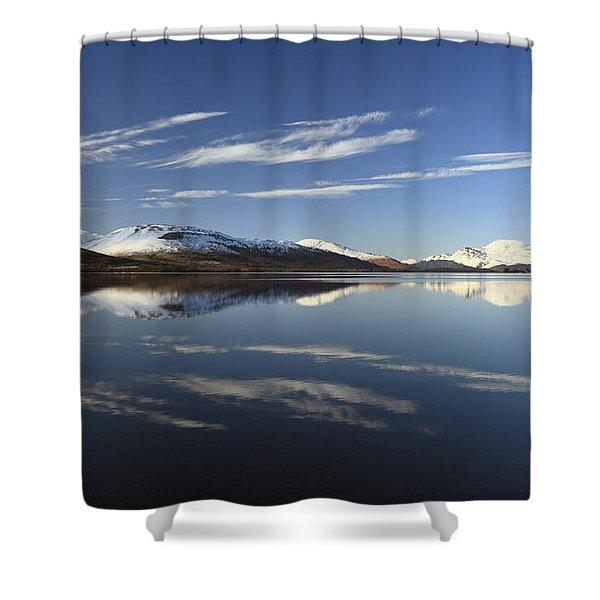 Loch Lomond Reflection Shower Curtain