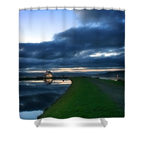 Lock House Shower Curtain