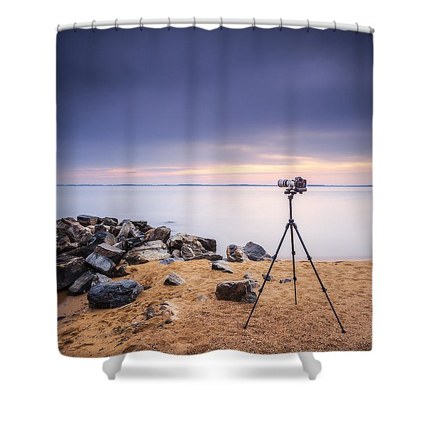 Locked And Loaded Shower Curtain