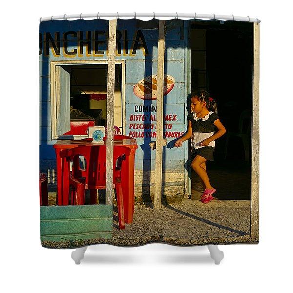 Loncheria Shower Curtain