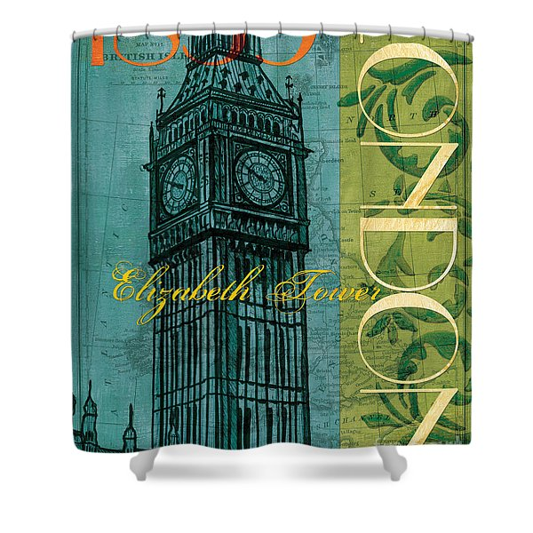 London 1859 Shower Curtain