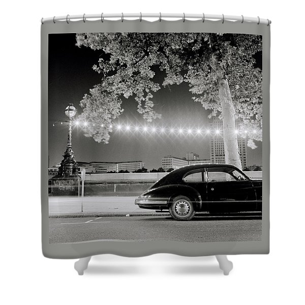 Classic London Shower Curtain