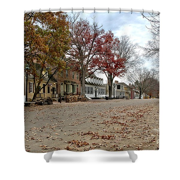 Lonely Colonial Williamsburg Shower Curtain