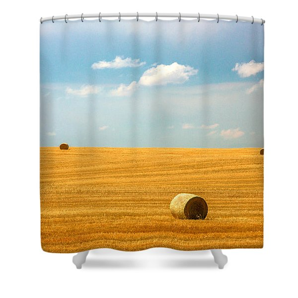 Lonely Fields Shower Curtain