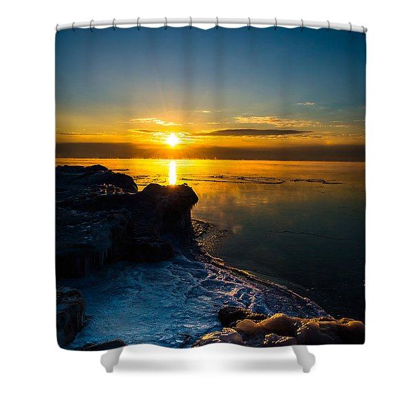 Long Cold Winter II Shower Curtain