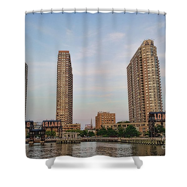 Long Island Shower Curtain