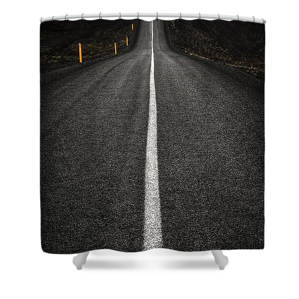 Long Way To Nowhere Shower Curtain