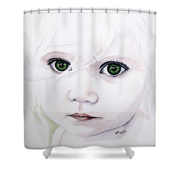 Longing Eyes Shower Curtain
