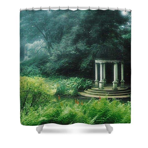 Longwood Gazebo Shower Curtain